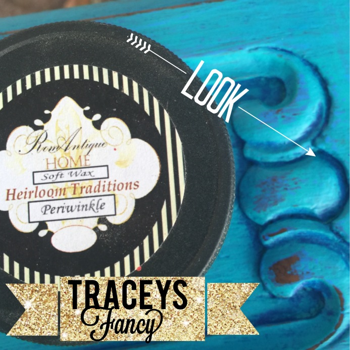 Layered Paint Look with Wax | Traceys Fancy