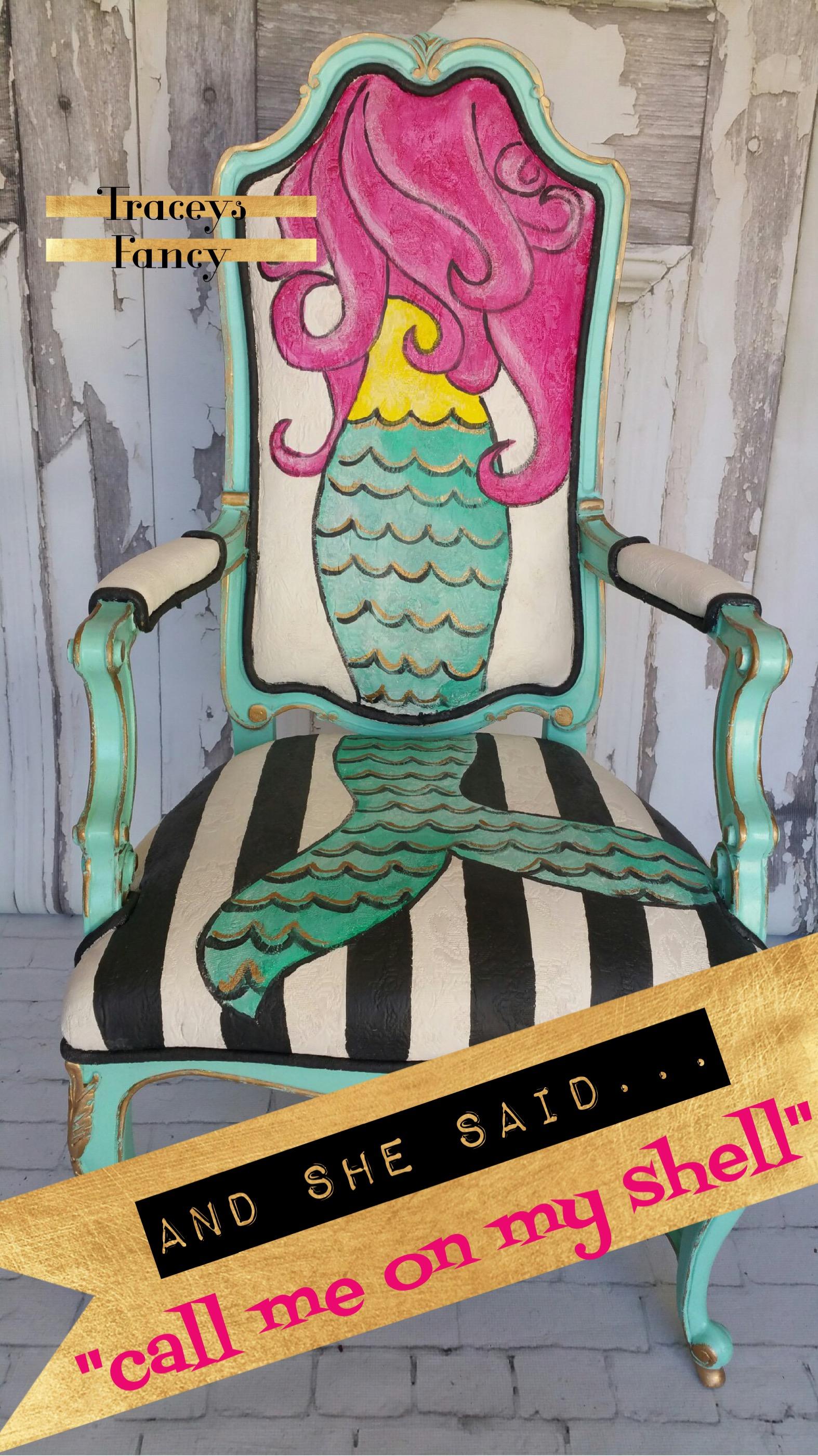 Mermaid Chair | Tracey's Fancy